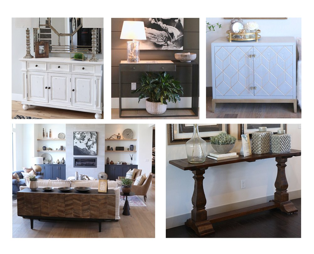 Sideboard collage