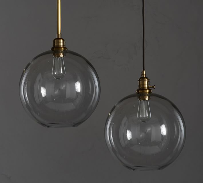 Classic Globe Pendant Light