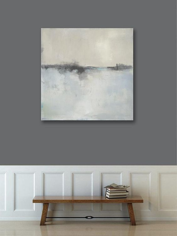 Abstract Landscape Canvas