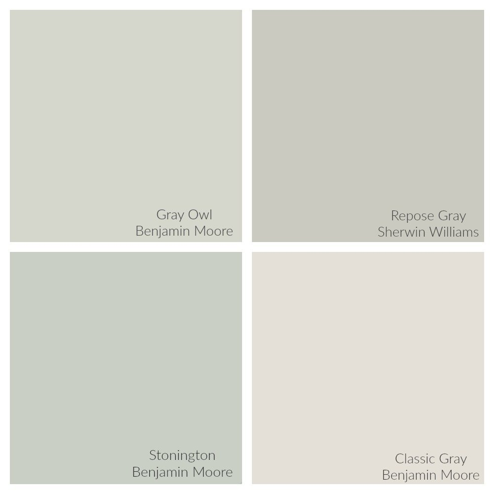 Light Warm Gray Paint Colors
