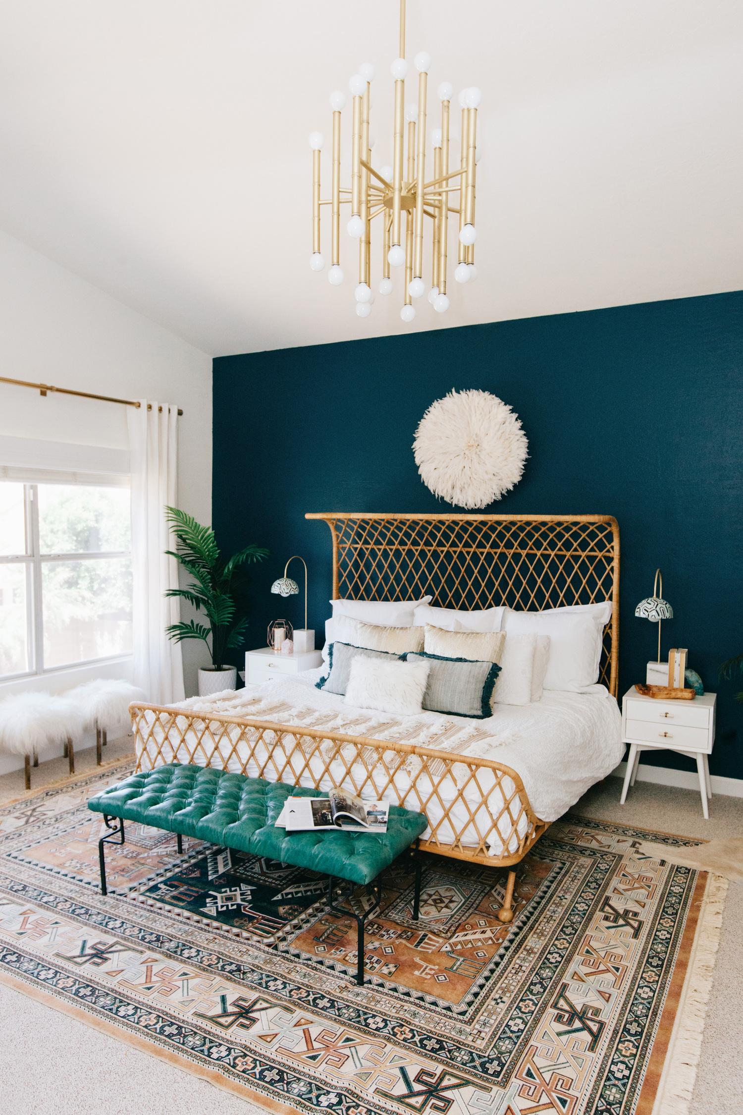 Ave Style Bedroom. Winner of Pinterest 2018 Home Awards