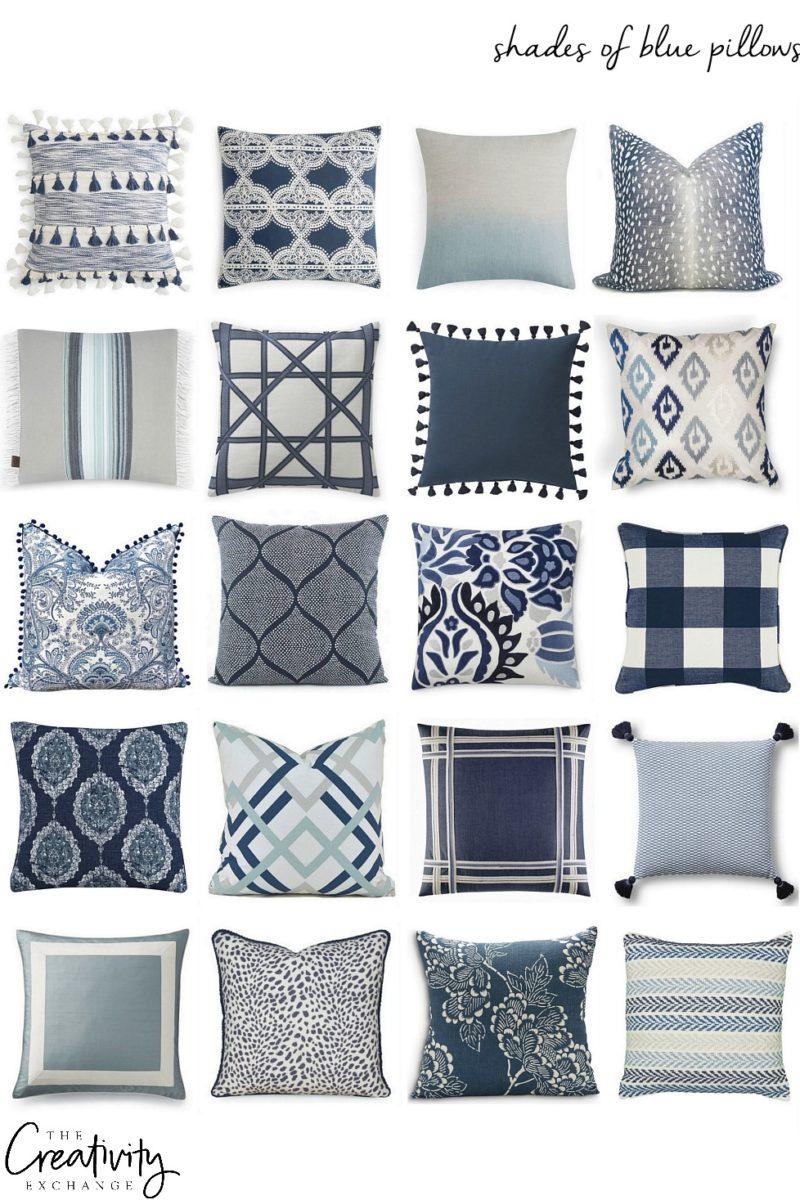 Mixing Pillow Patterns. Pillow Sources