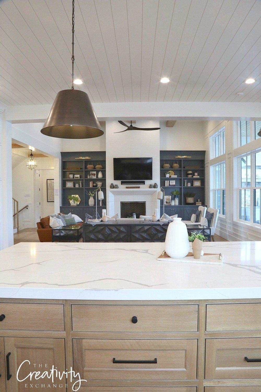 Modern Farmhouse Open Kitchen Design
