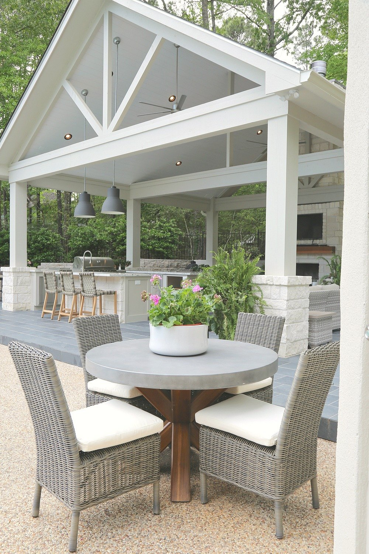 Outdoor Kitchen Pool House. The Creativity Exchange