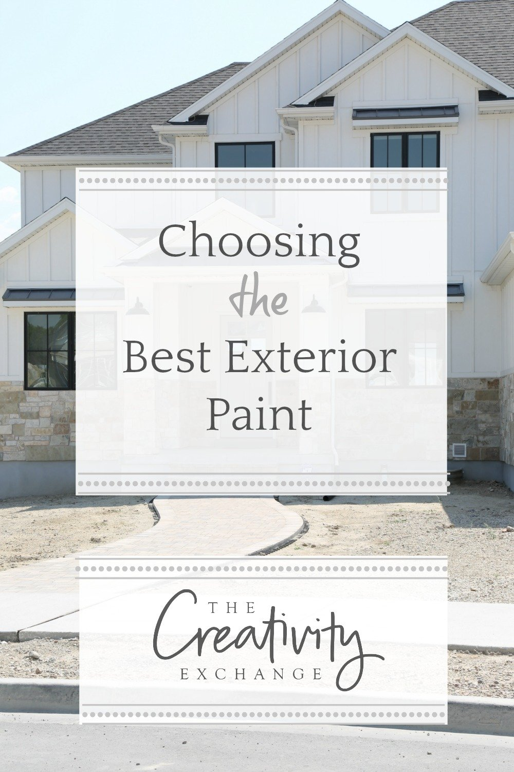 Tips for choosing the best exterior paints for the job