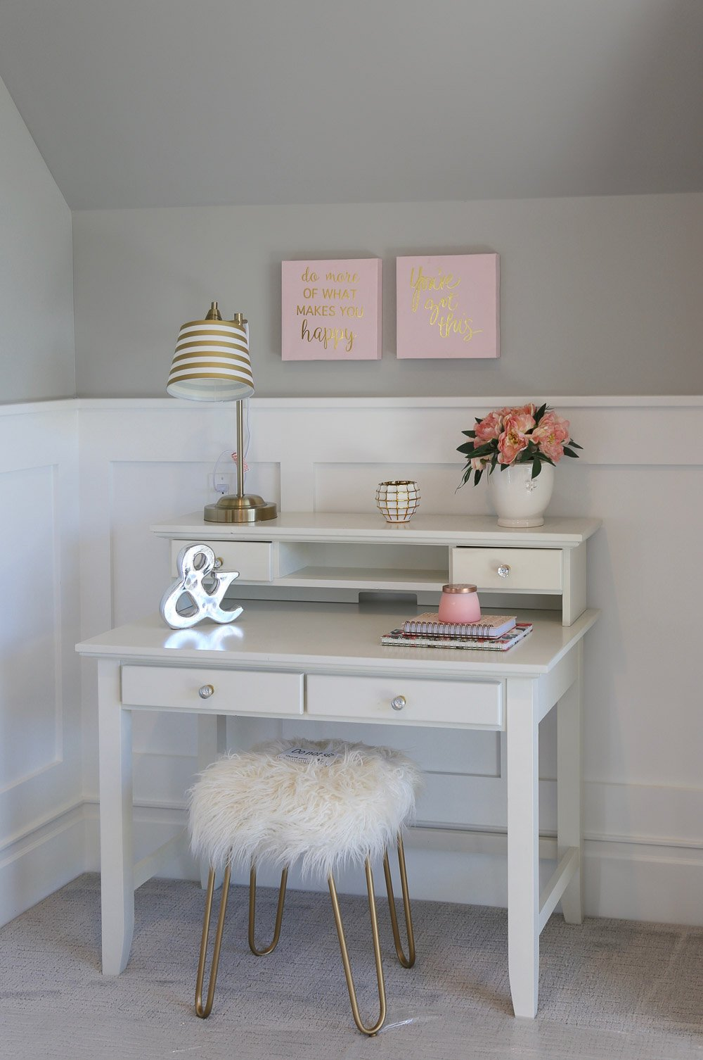 Nook with desk