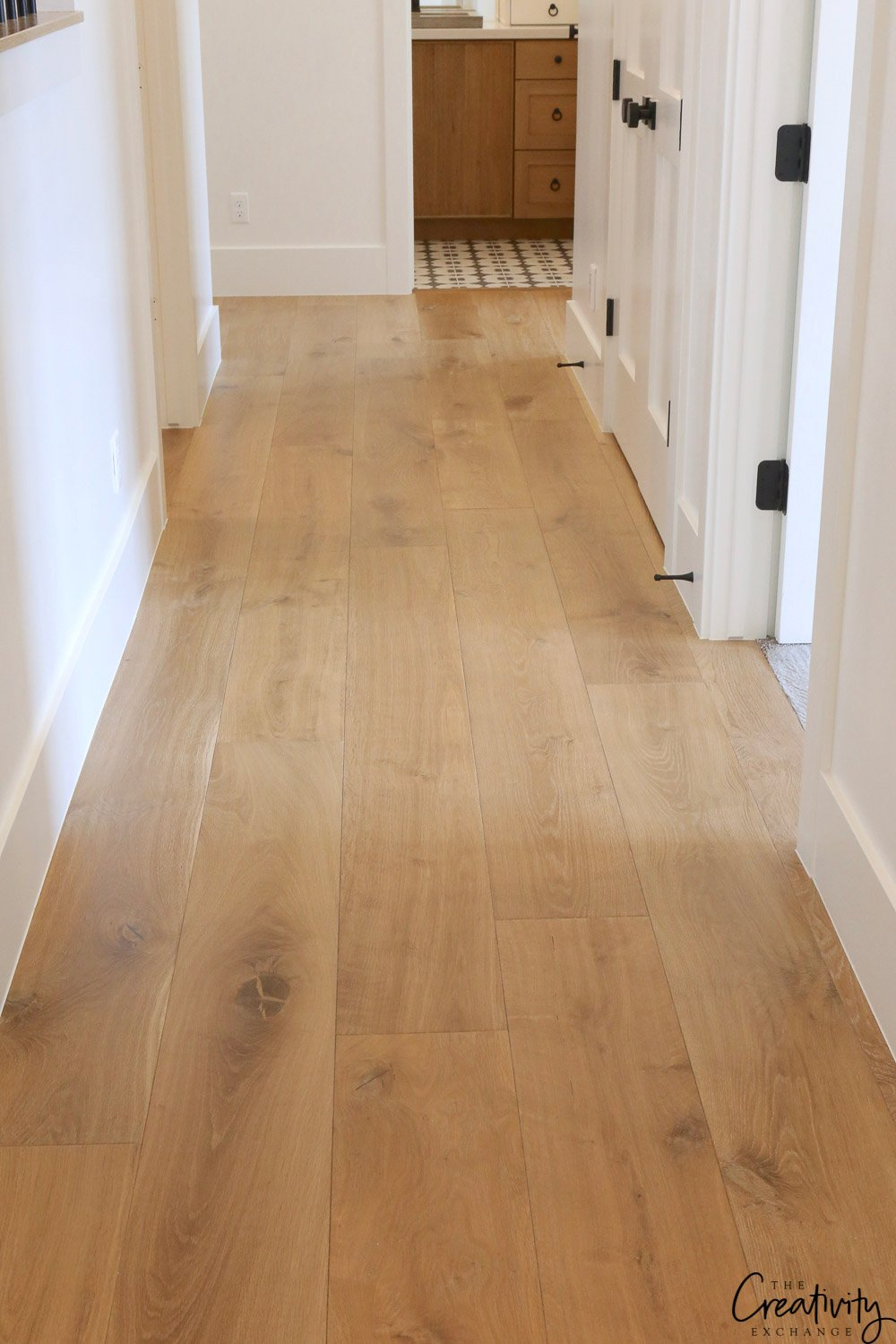 Villa Blanca Engineered Hardwood Floors.