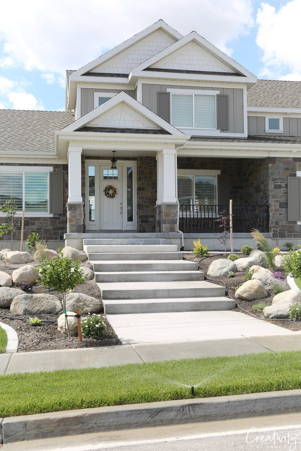 Tips for incorporating rocks and boulders into landscapes.