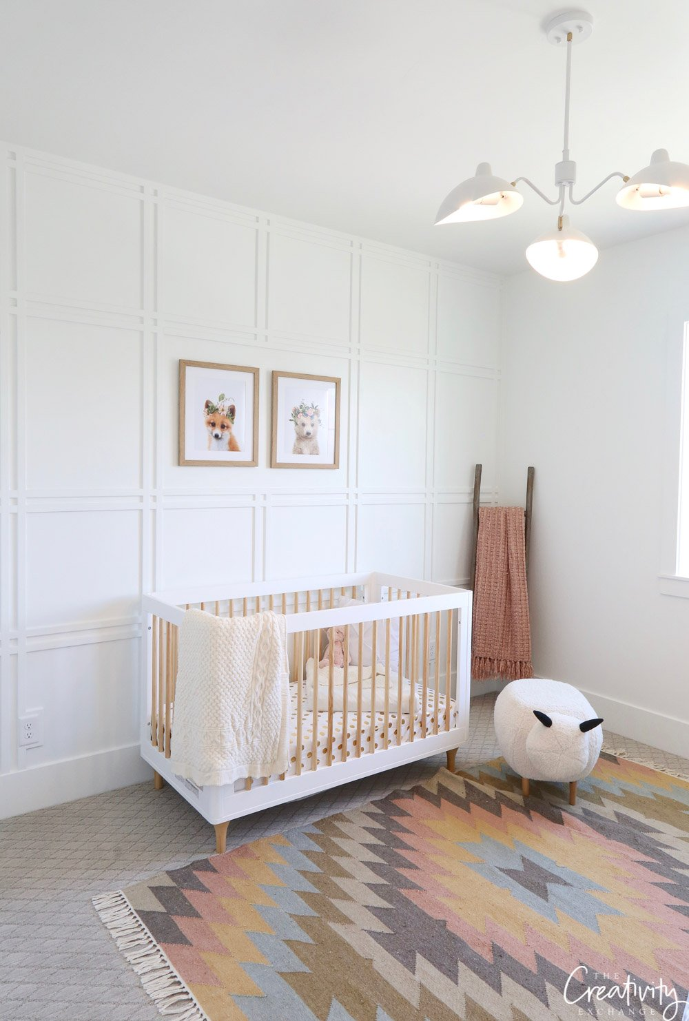 Nursery in Millhaven Select Home.
