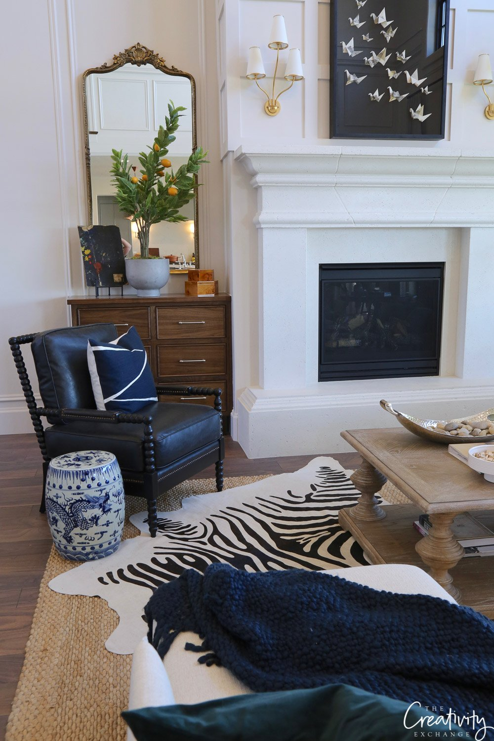 Living room and fireplace. Utah Valley Parade of Home