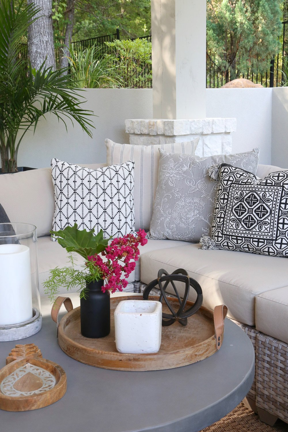 5 Minute Outdoor Decorating and Styling Tips and Tricks