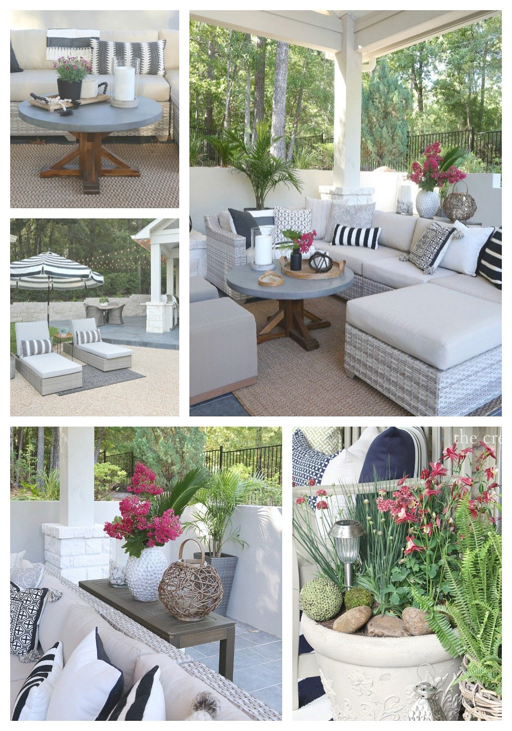 5 Minute Outdoor Patio Decorating Tips and Ideas