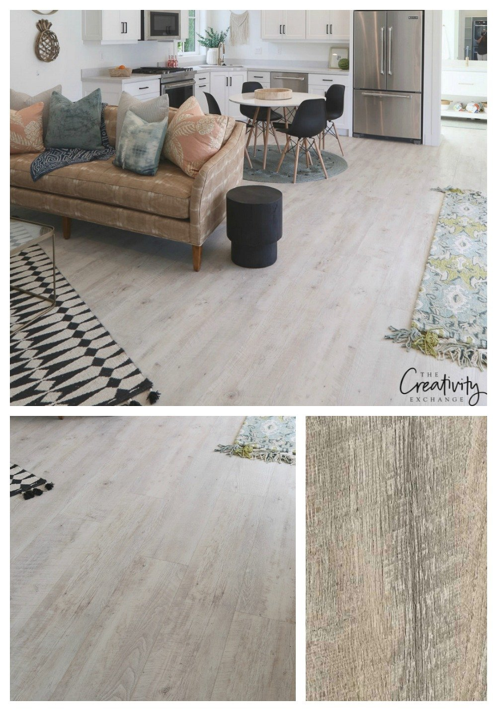Luxury Wide Vinyl Plank Flooring