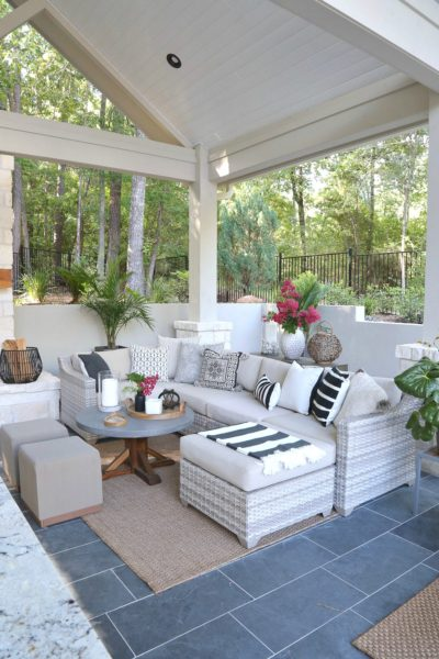 Tips and tricks for outdoor decorating
