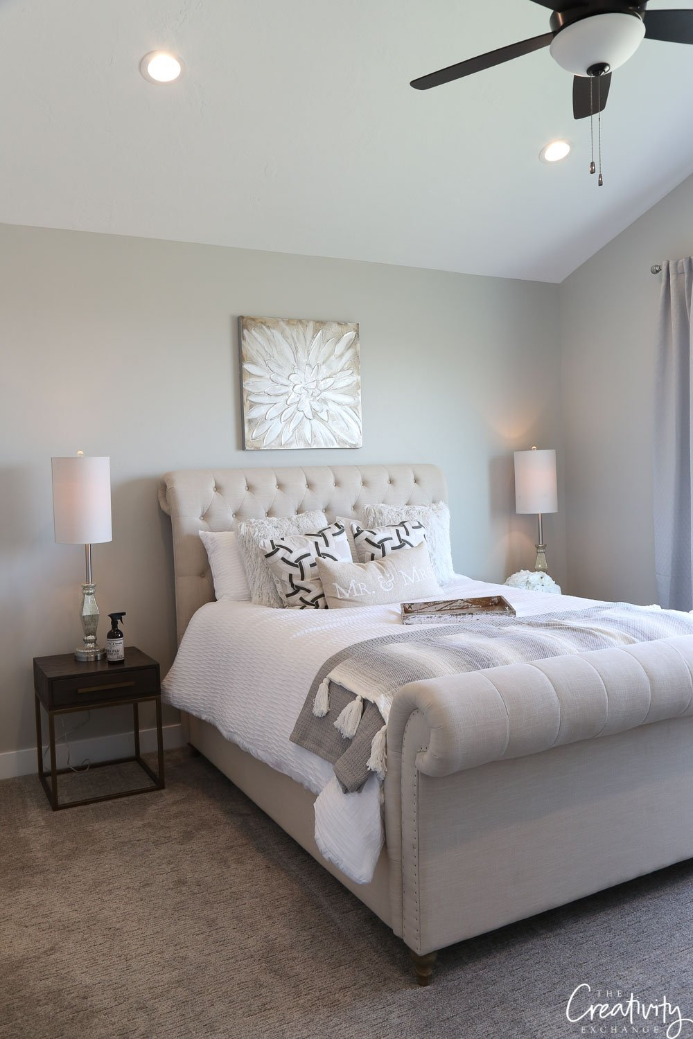 Wall Paint Color Is Sherwin Williams Repose Gray