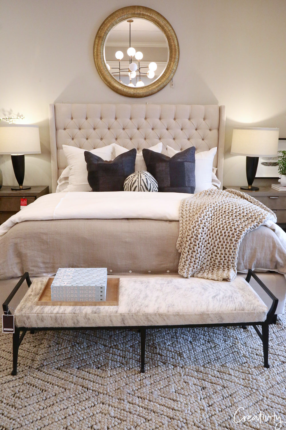 Alice Lane Home bed and bedding
