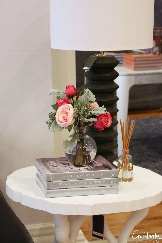 Faux floral arrangement from Alice Lane