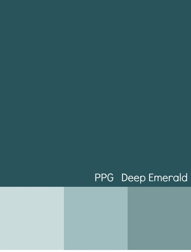 PPG Paints Deep Emerald