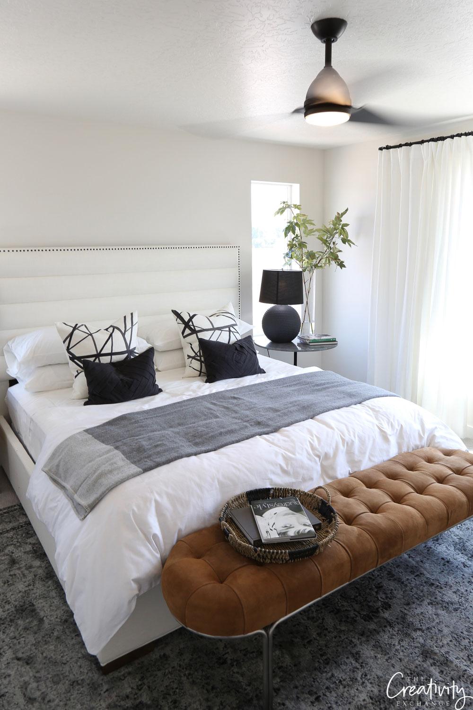 Bedroom designed by Akin Designs