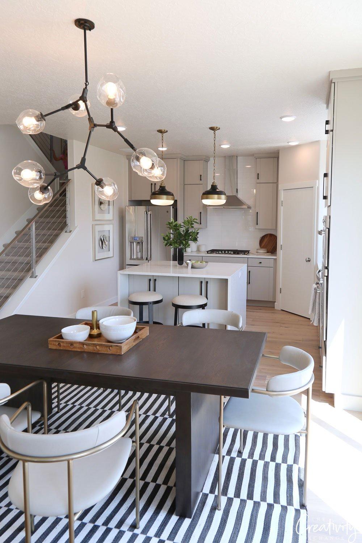 Open plan interior by Akin Designs