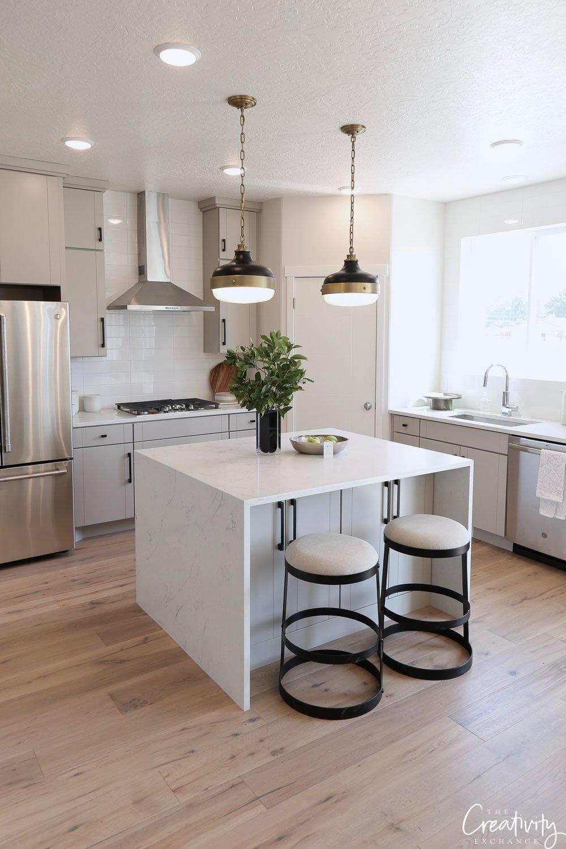 Open kitchen Garbett Homes