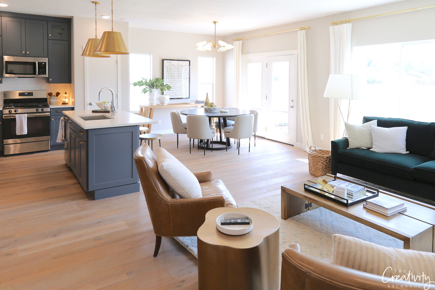 Open Plan Living at The Bellows