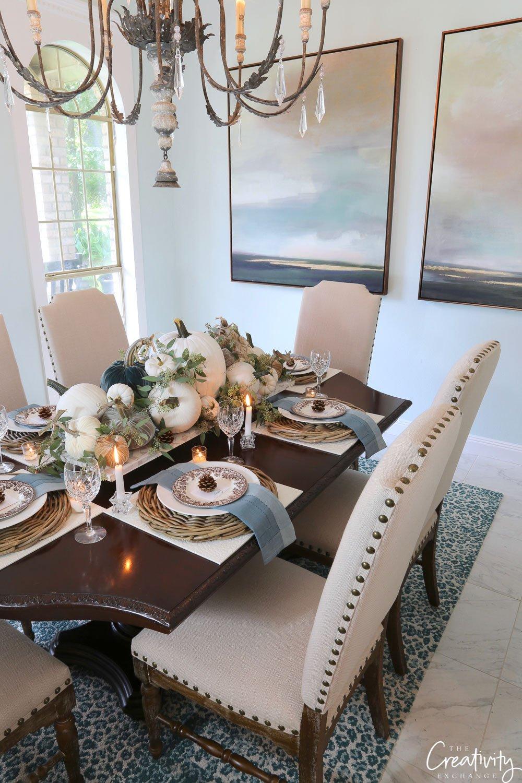 Fall table decor ideas and tips
