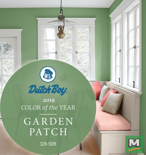 2019 Dutch Boy Color of the Year Garden Patch