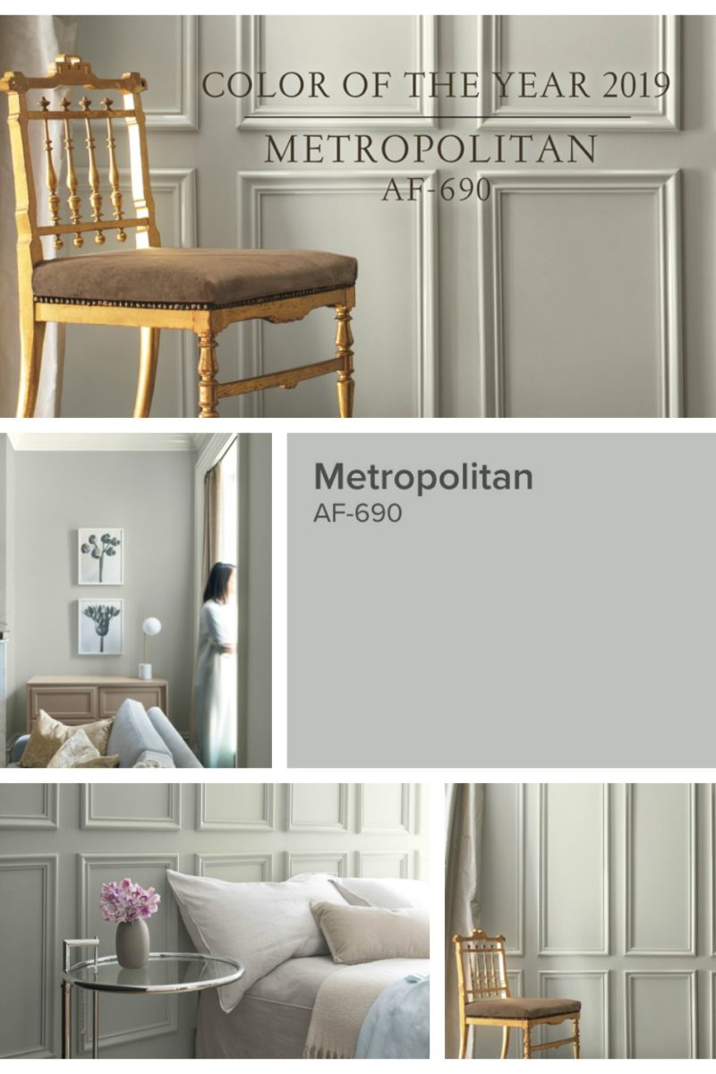 Benjamin Moore 2019 Color of the year.