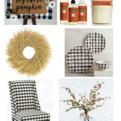 Fall Home Decor Favorites