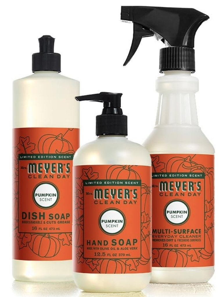 Mrs. Meyers Cleaning Products Pumpkin Scent