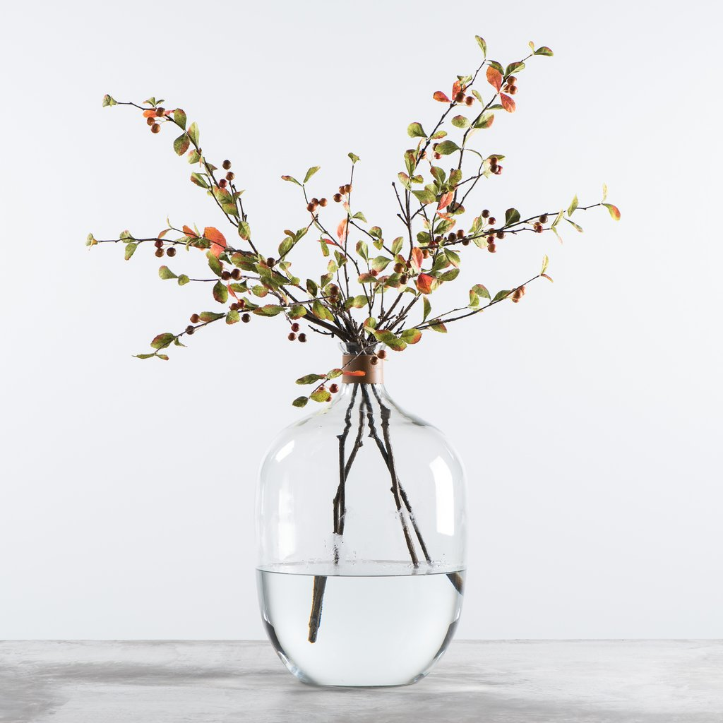 Glass jug from Magnolia Home