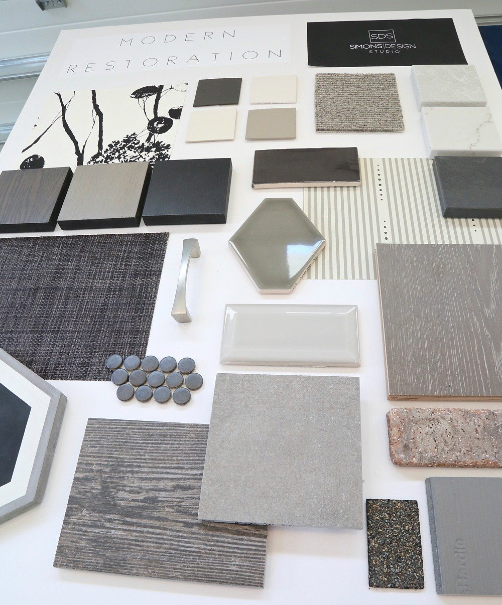 Modern design board. Simons Design Studio