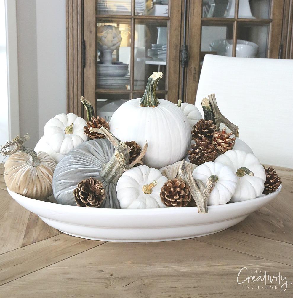 Quick fall centerpiece ideas