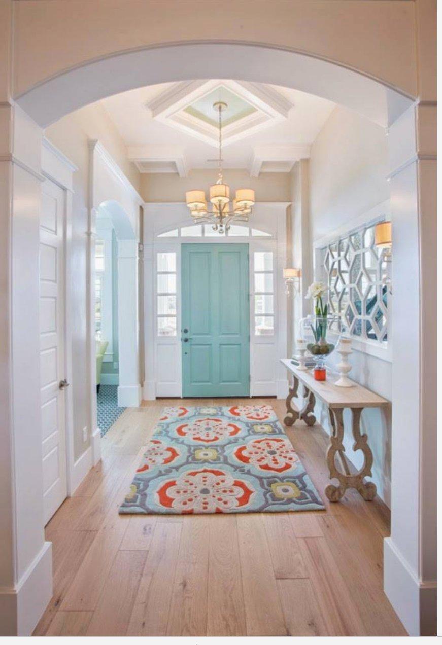 Door color is Benjamin Moore Wythe Blue
