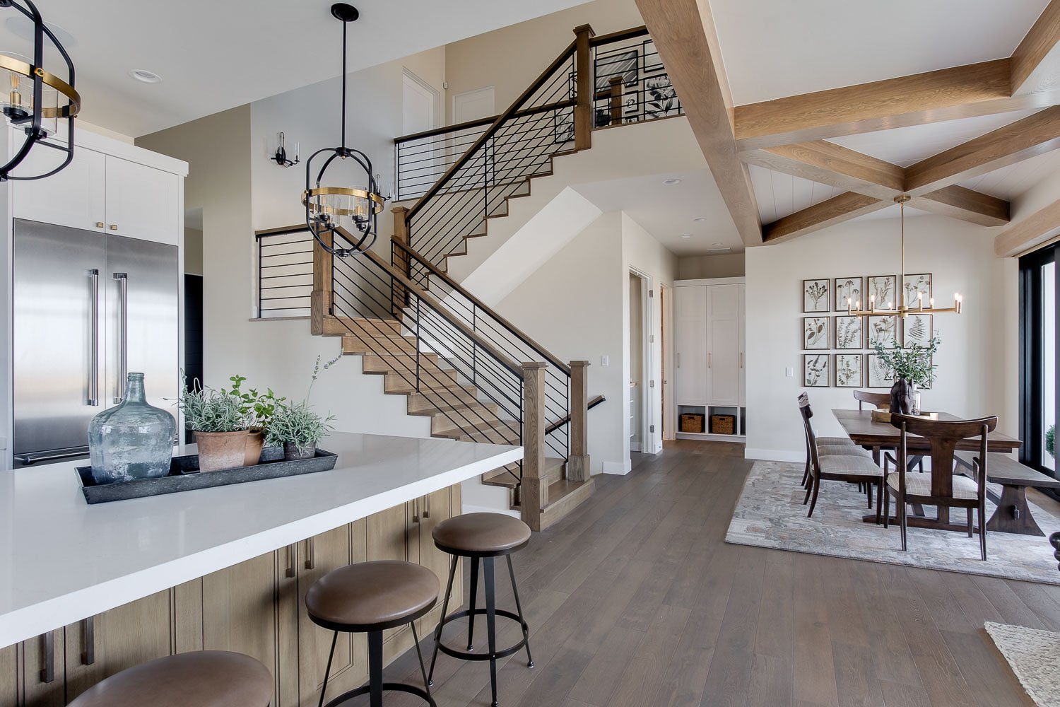 Modern Farmhouse Home Tour. Simons Design Studio