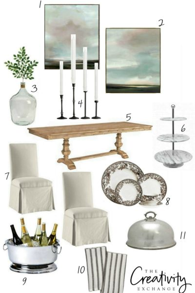Staple pieces for entertaining through the holidays.