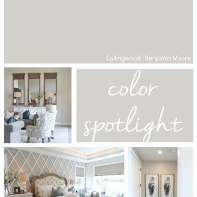 Benjamin Moore Collingwood: Color Spotlight