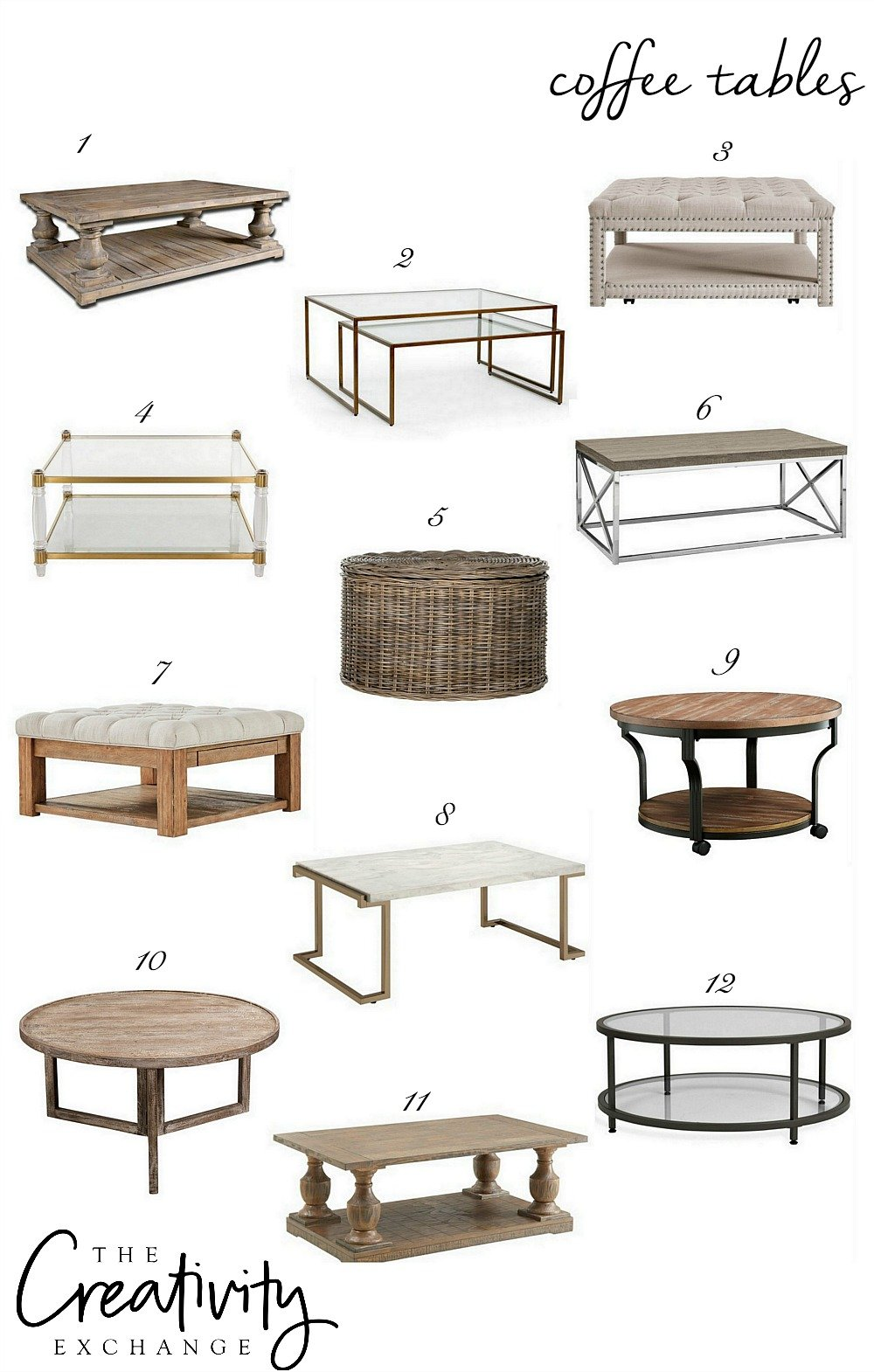 Choosing the perfect coffee table.