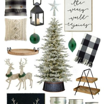 Neutral Christmas Design Board