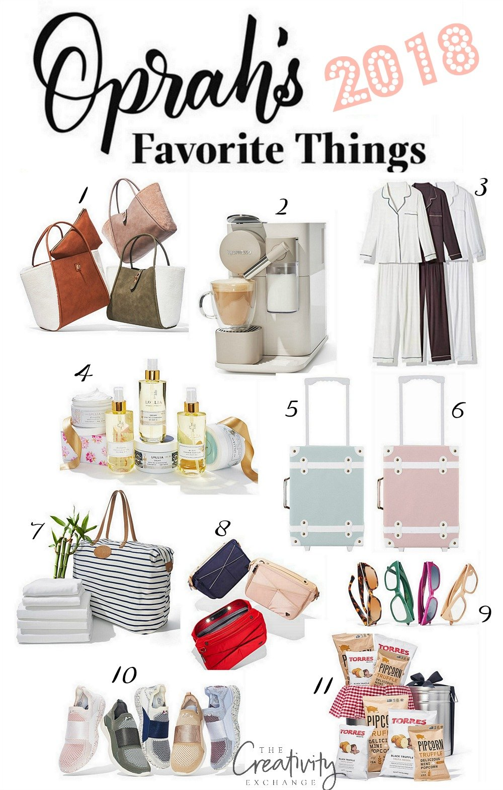 Oprah's full list has more than items on it, but here are 15 of our favorite things from Oprah's Favorite Things 1. Burt's Bees Holiday Family Pajamas, $10+, Amazon TODAY editors.