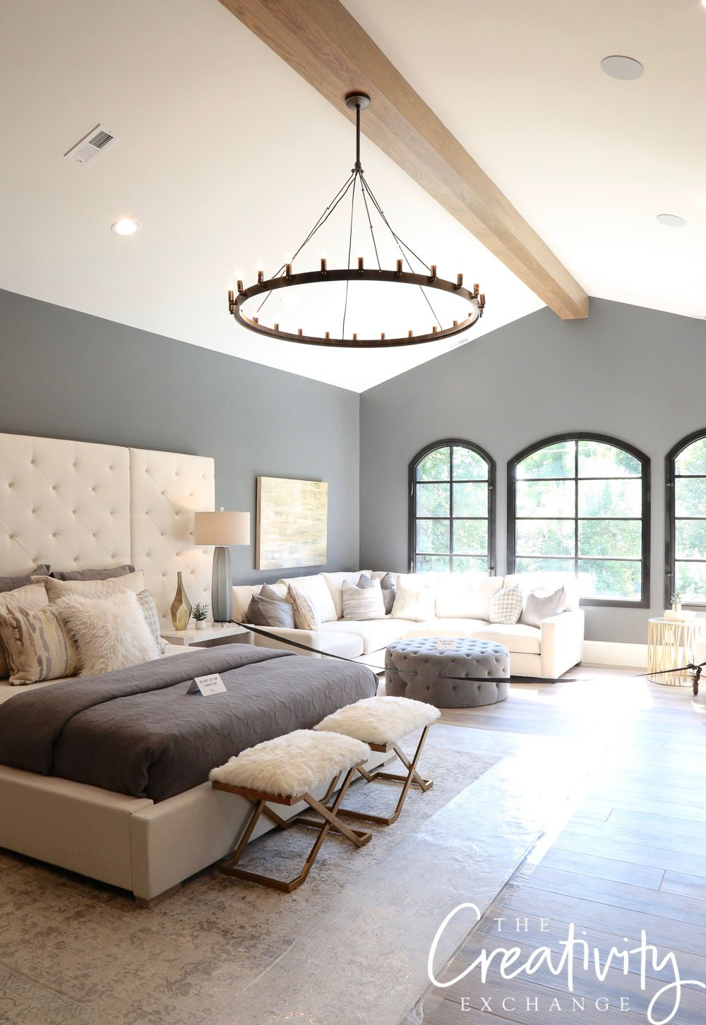 Wall Color is Benjamin Moore Trout Gray