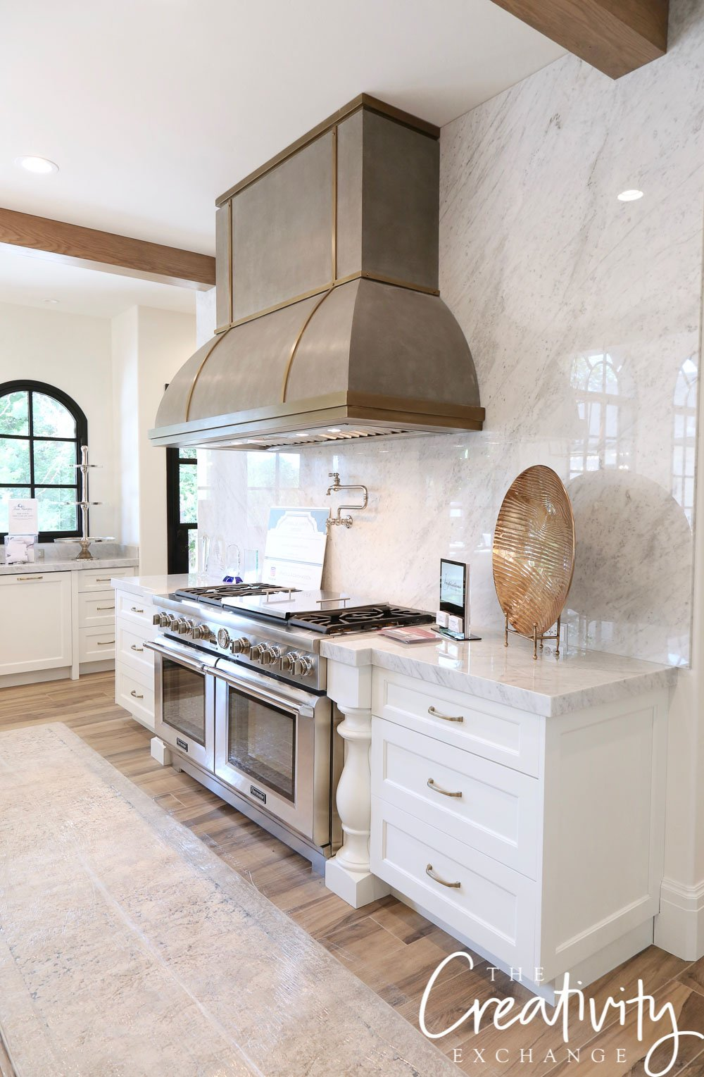 Modern European Chateau Kitchen