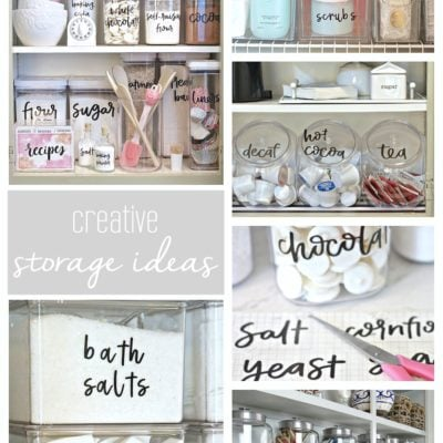 Big Impact Organizational Storage Pieces