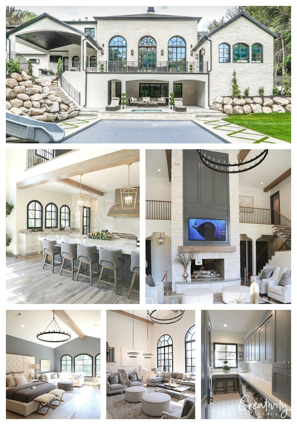 Modern European Chateau Home Tour