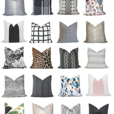 Designer Fabric Pillow Cover Sources