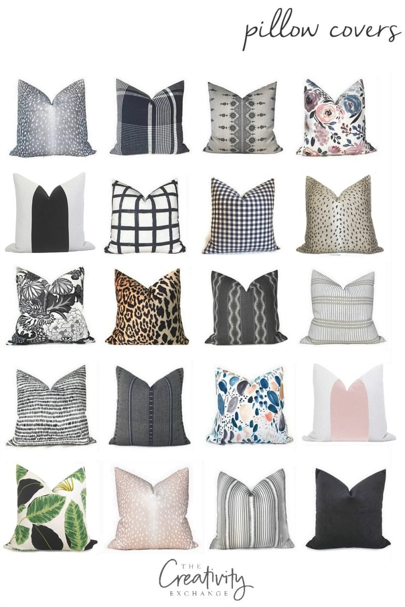 Designer Fabric Pillow Cover Sources