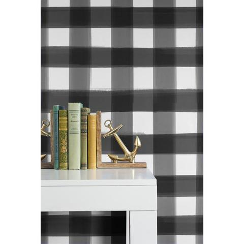 buffalo plaid wallpaper Caitlin Wilson