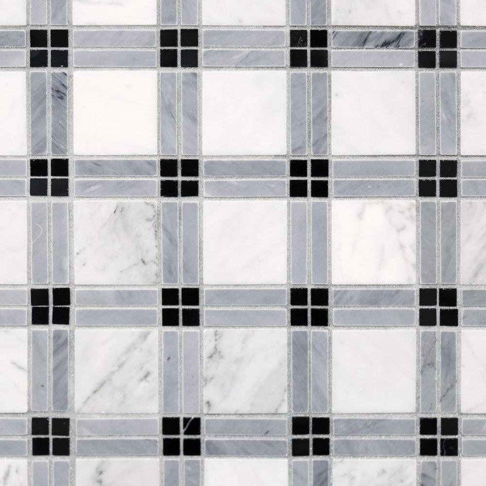 Plaid Marble Tile