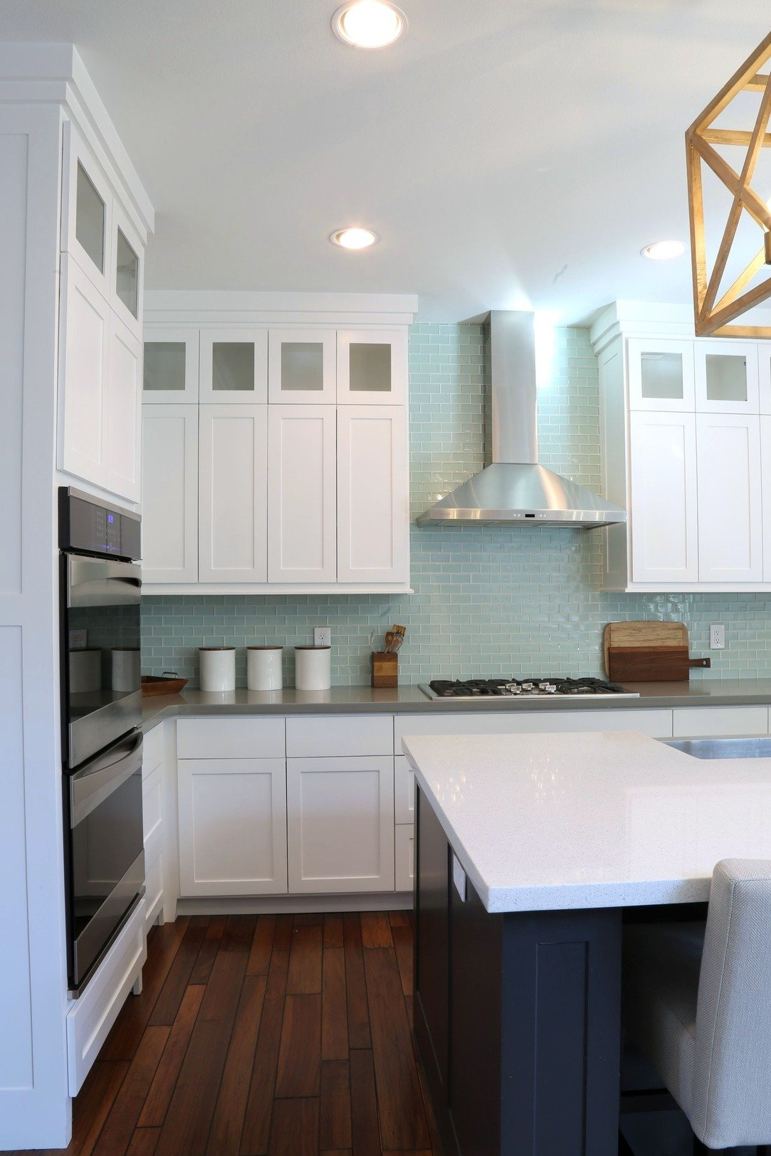 Cabinet Color is Benjamin Moore Decorators White